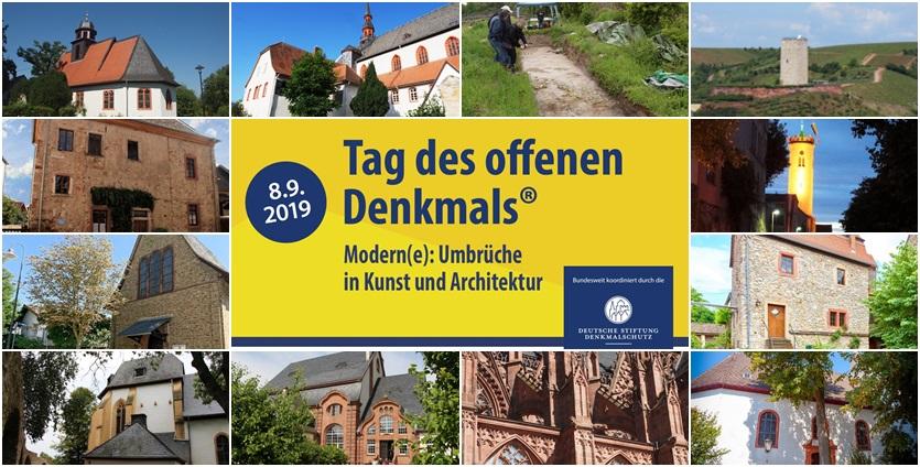 Tag des offenen Denkmals in Rhein-Selz 2019